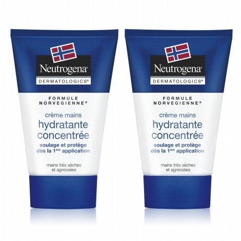 Neutrogena Dermatologics Creme Mains Concentré 2 x 50 ml pas cher, discount