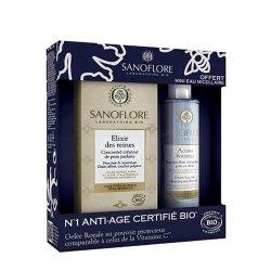 Sanoflore Coffret Elixir des Reines 50ml + Aciana Botanica Eau Micellaire 50ml OFFERTE