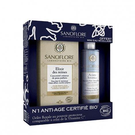 Sanoflore Coffret Elixir des Reines 50ml + Aciana Botanica Eau Micellaire 50ml OFFERTE pas cher, discount