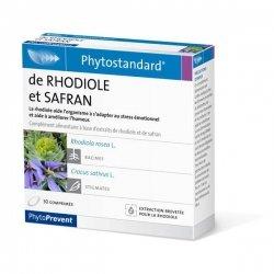 Pileje Phytostandard Rhodiole et Safran 30 comprimés