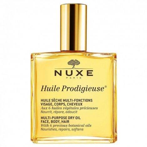 Nuxe Huile Prodigieuse Huile Sèche Multi-Fonctions Visage Corps Cheveux 100ml pas cher, discount