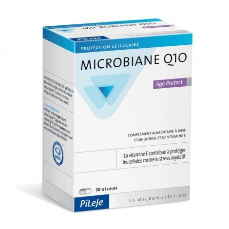 Pileje Microbiane Q10 Age Protect 30 gélules pas cher, discount