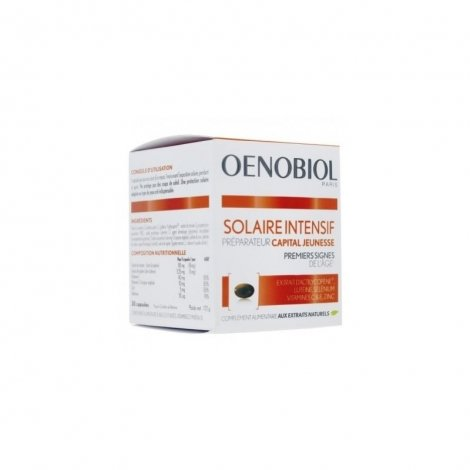 Oenobiol Solaire Intensif Capital Jeunesse / Anti-Âge 30 capsules pas cher, discount