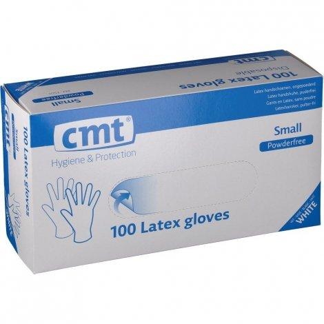 CMT Texa Gants Latex Sans Poudre Small 100 pièces pas cher, discount