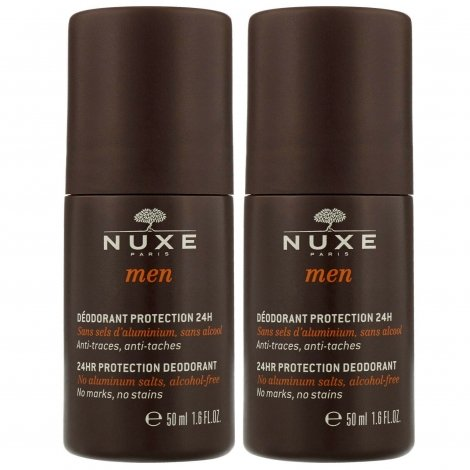 Nuxe Men Duo Déodorant Protection 24H 2x50ml pas cher, discount
