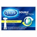 Optone Double Action Yeux Irrités 10 unidoses