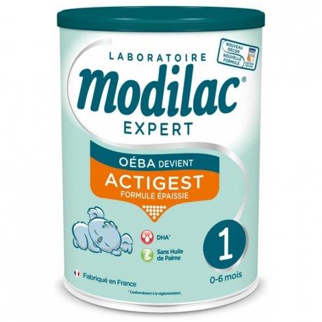 Modilac Expert Actigest Lait 1er âge 800g pas cher, discount