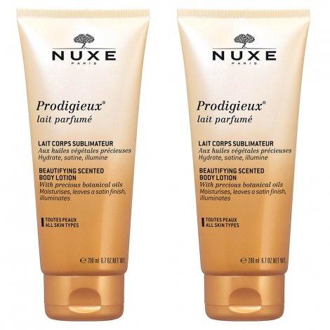 Nuxe Prodigieux Lait Parfumé 2 x 200ml pas cher, discount