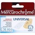 Mercurochrome Pansements Universal 20 pièces