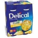 Delical Fruité Boisson Fruitée Saveur Ananas 4x200ml