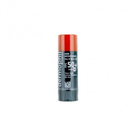 Dermophil Indien Solaire Stick Lèvres FPS50+ 4g pas cher, discount