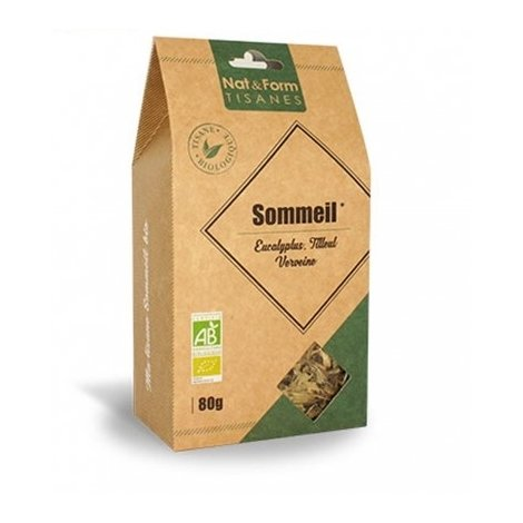 Nat & Form Tisane Sommeil Bio 80g pas cher, discount