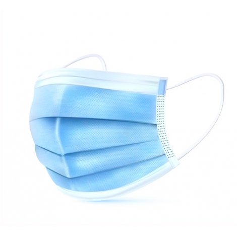 Masques Type Chirurgical et Confort Type I - 10 pièces pas cher, discount