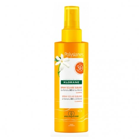 Klorane Polysianes Spray Solaire Sublime SPF30 200ml pas cher, discount