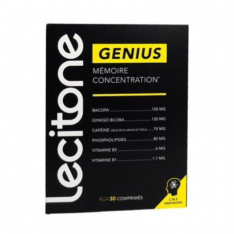 Lecitone Genius Mémoire Concentration 30 comprimés pas cher, discount