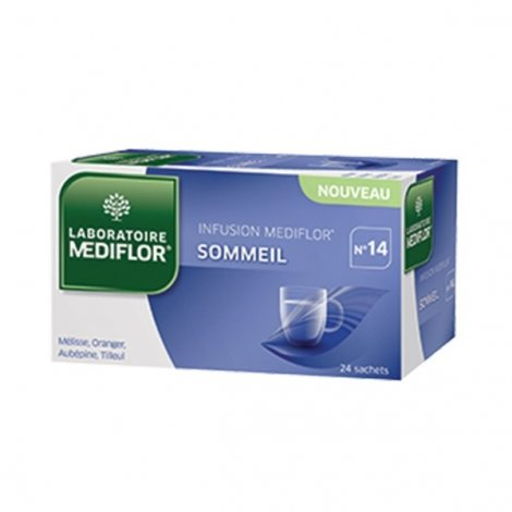Mediflor Infusion Sommeil 24 sachets pas cher, discount