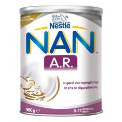 Nestlé NAN A.R. 0-12 mois 800g