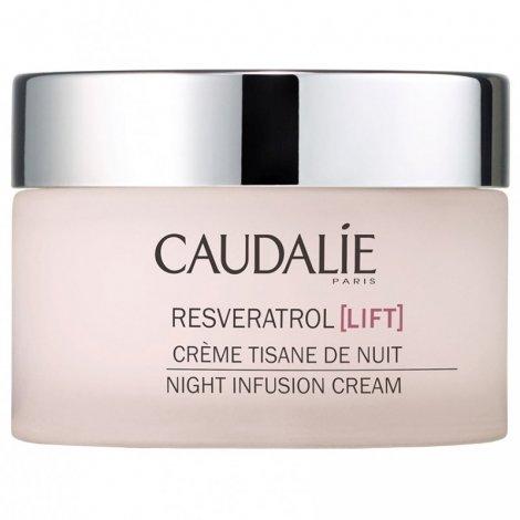 Caudalie Resveratrol Lift Crème Tisane de Nuit 50 ml pas cher, discount