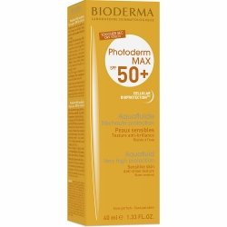Bioderma Photoderm Max Aquafluide incolore SPF50+ 40ml