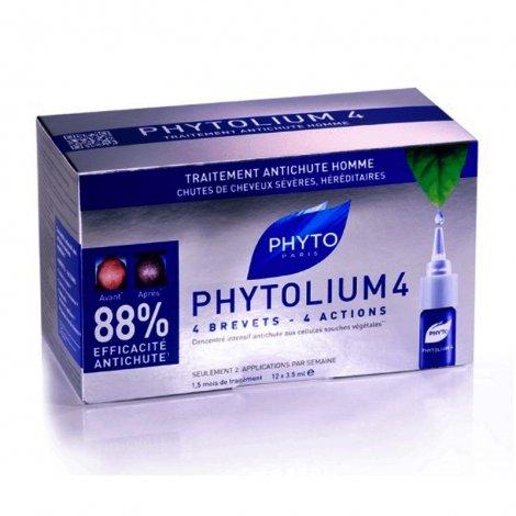 Phyto PhytoLium 4 Traitement Antichute Homme 12x3,5ml pas cher, discount