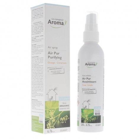 Le Comptoir Aroma Air Pur Spray Assainissant Orange Cannelle 200ml pas cher, discount