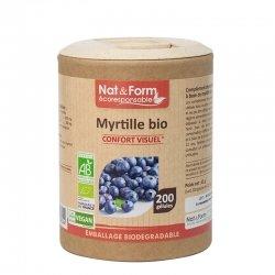 Nat & Form Ecoresponsable Myrtille Confort Visuel Bio 200 gélules