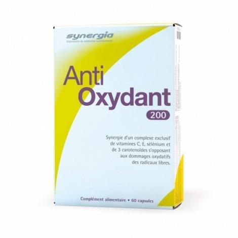 Synergia Anti-Oxydant 200 60 Capsules pas cher, discount