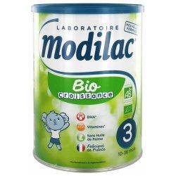 Modilac Bio Croissance 3ème Âge 10-36 Mois 800g