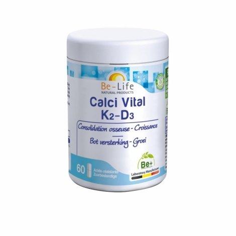 Be Life Calci Vital K2-D3 60 gélules pas cher, discount