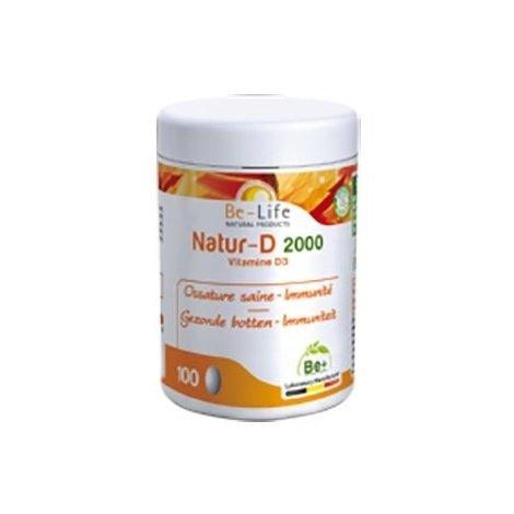 Be Life Natur-D 2000 100 gélules pas cher, discount