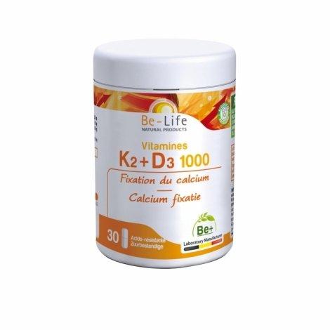 Be Life Vitamines K2+D3 1000 30 gélules pas cher, discount