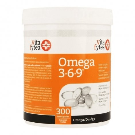 Vitafytea Omega 3-6-9 300 capsules pas cher, discount