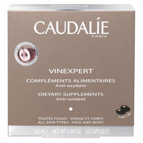 Caudalie Vinexpert Compléments Alimentaires Anti-Oxydant 30 Capsules pas cher, discount