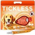 TickLess Pet Répulsif à Ultrasons Tiques & Puces Orange