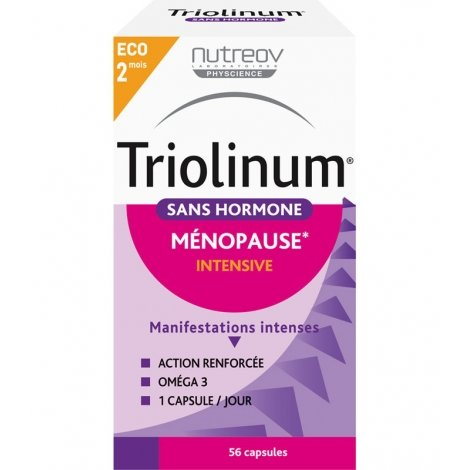 Nutreov Triolinum Sans Hormone Ménopause Intensive 56 capsules pas cher, discount