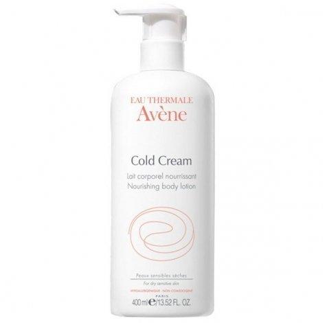 Avène Cold Cream Lait Corporel Nourrissant Flacon Pompe 400 ml pas cher, discount