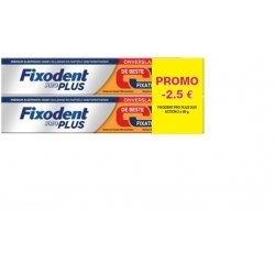 Fixodent Pro Plus Duo Action 2x60g OFFRE SPECIALE