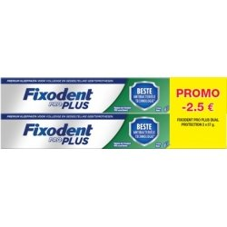 Fixodent Pro Plus Dual Protection 2x57g OFFRE SPECIALE