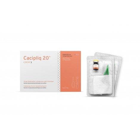 Cacipliq 20 RGTA Kit de Cicatrisation Cutanée 2x5ml pas cher, discount