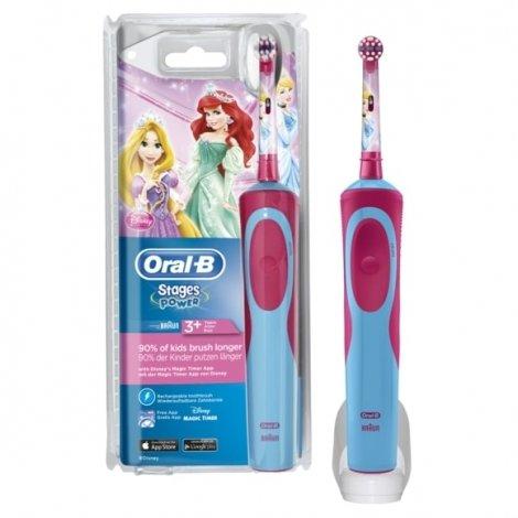 Oral B Brosse à Dents Stages Power La Petite Sirène pas cher, discount