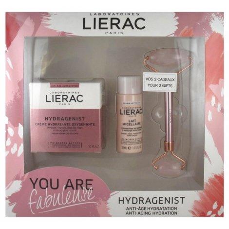 Lierac Coffret Cadeau Hydragenist Crème Hydratante Oxygénante 50ml pas cher, discount