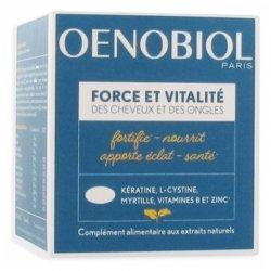 Oenobiol Capillaire Force et Vitalité 60 capsules