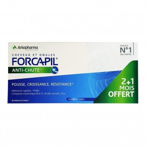 Arkopharma Forcapil Anti-Chute 90 comprimés 2 + 1 mois OFFERT pas cher, discount