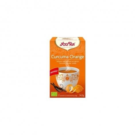 Yogi Tea Curcuma Orange Bio 17 sachets pas cher, discount