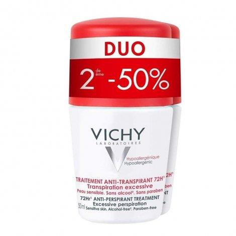 Vichy Déodorant Anti-Transpirant 72H 2 x 50ml pas cher, discount