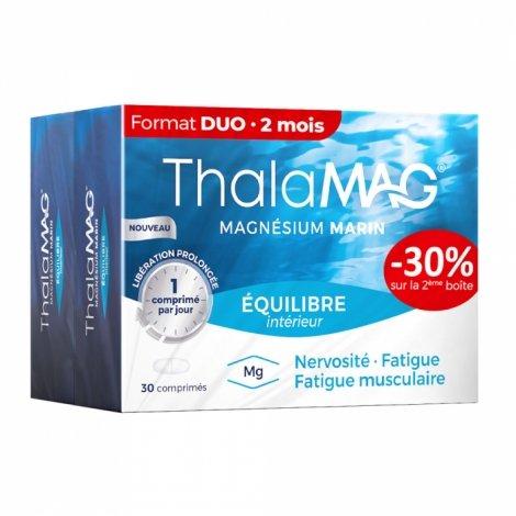 Thalamag Magnésium Marin Équilibre Intérieur 2 x 30 comprimés pas cher, discount