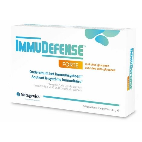 Metagenics ImmuDefense Forte 30 comprimés pas cher, discount