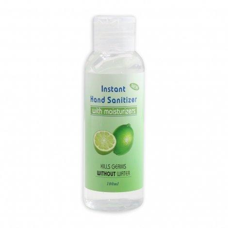 Gel Antibactérien Hydratant au Citron Vert 100ml pas cher, discount
