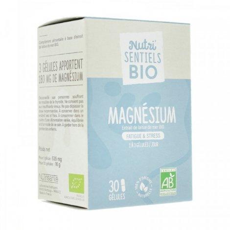 Nutrisanté Nutri'Sentiels Magnesium Bio 30 Gélules pas cher, discount