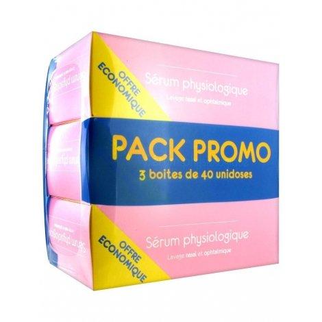 Gifrer Physiologica Sérum Physiologique 3x40 unidoses pas cher, discount